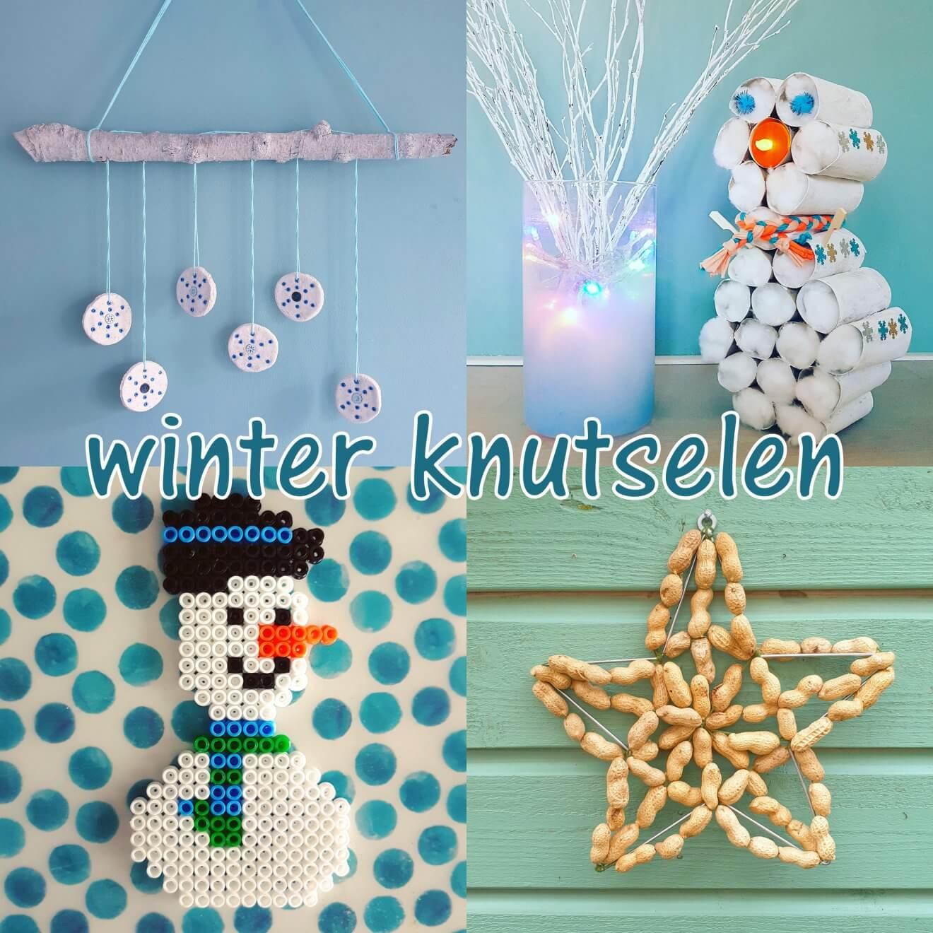 Winter knutselen met kinderen als het buiten koud is: leuke ideeën