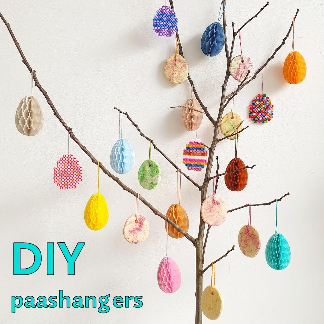 DIY paastakken: paashangers knutselen met kinderen