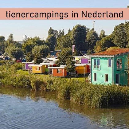 101 camping tips voor tieners in Nederland, die ook leuk zijn voor ouders. Dit is camping Zeeburg in Amsterdam.