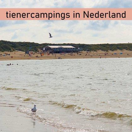101 camping tips voor tieners in Nederland, die ook leuk zijn voor ouders. Dit is het strand op loopafstand van Strandpark de Zeeuwse Kust in Renesse.