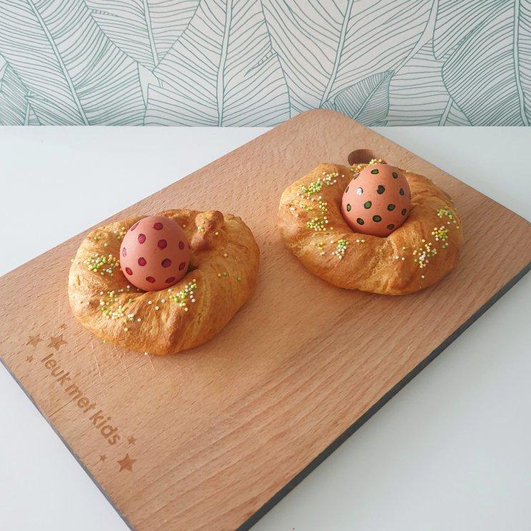 Italiaans paasbrood en meer recepten voor de paasbrunch en het paasontbijt met kinderen