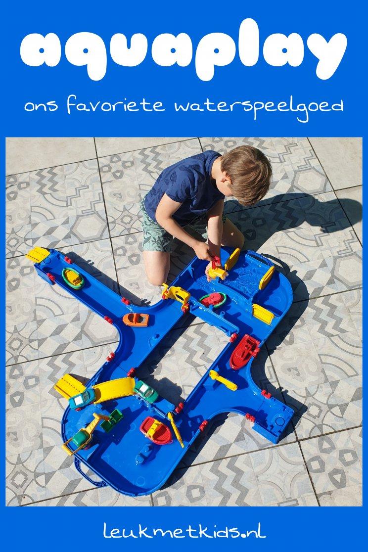 Aquaplay waterbaan: ons favoriete waterspeelgoed