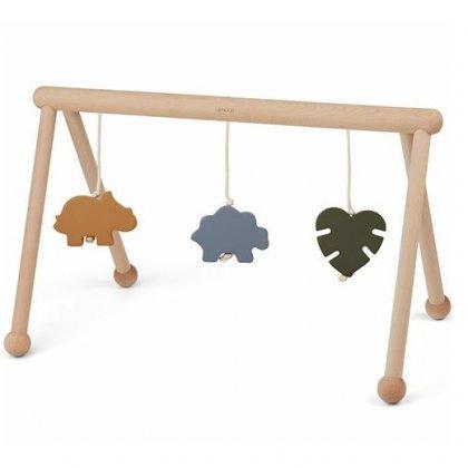 Leukste kraamcadeau: 101 cadeau ideeën voor de geboorte van een baby. Naast een stoffen babygym kun je er ook een van hout kopen. Er zijn ook exemplaren zonder hangers te koop, die kies je er los bij uit.