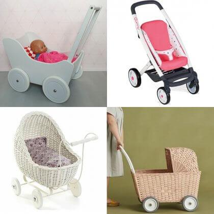 Peuter verjaardag: cadeau ideeën voor kinderen van 2 of 3 jaar. Een poppenwagen is een cadeau waar kinderen heel lang mee kunnen spelen.