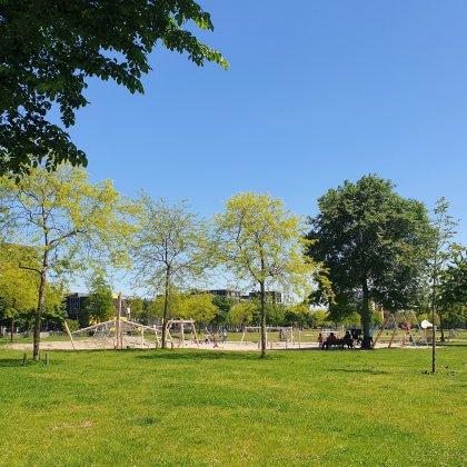 De Leuke Update #39 | kids ideeën, musthaves en uitjes | tuin special. Nieuwe speeltuin in het Theo van Goghpark op IJburg.
