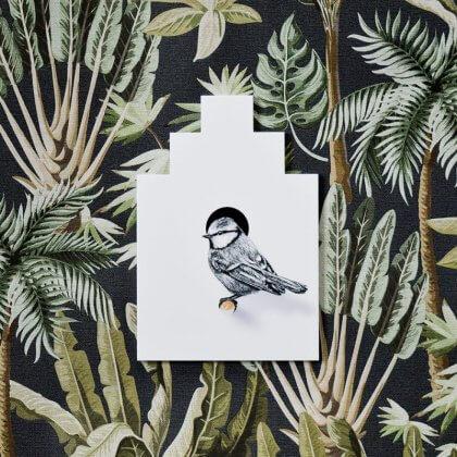 Ken je de leuke vogel muurstickers van Fine Forest al? Ze hebben nu ook bijbehorende haakjes en vogelhuisjes. Heel erg leuk in een huis vol groen!