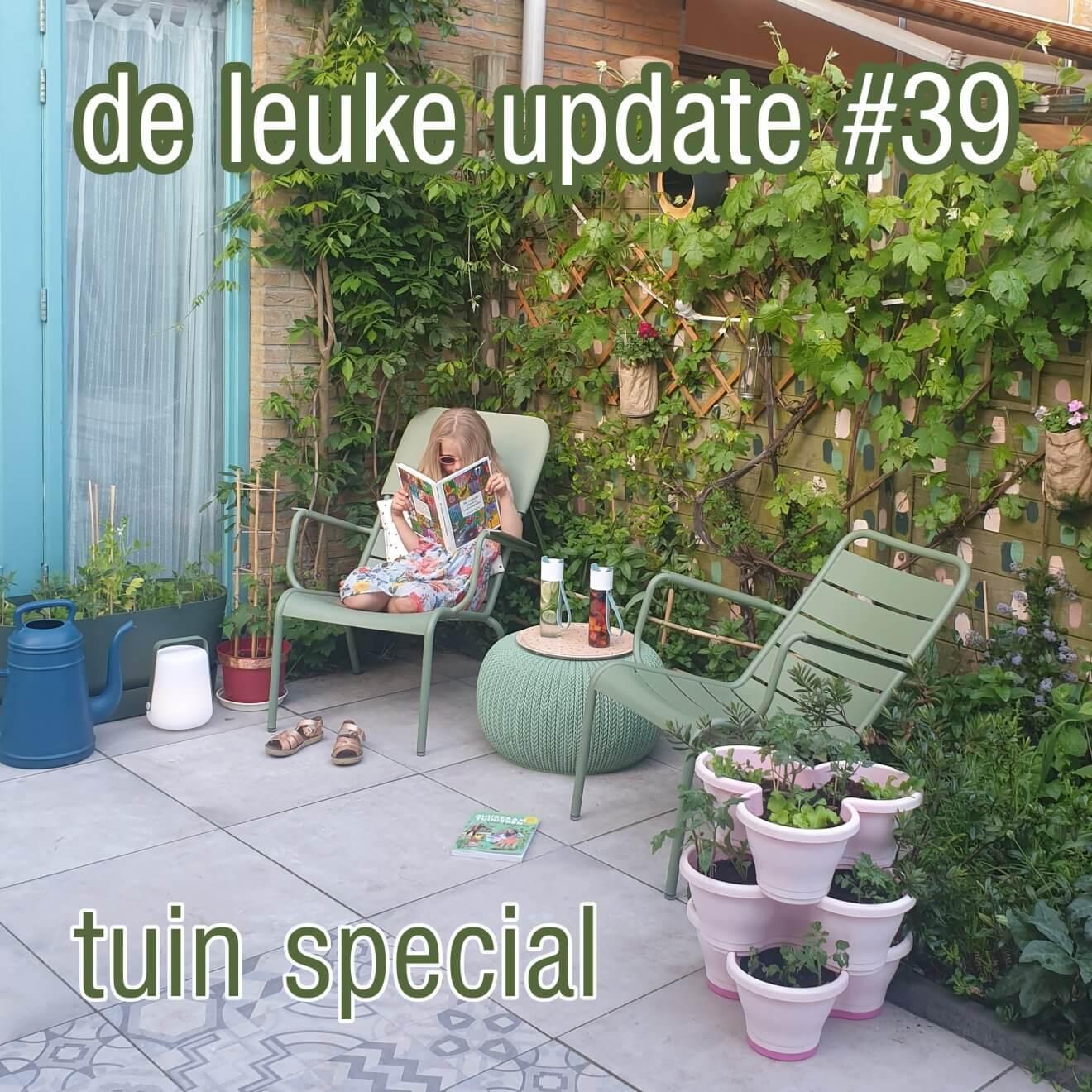De Leuke Update #39 | online magazine met kids ideeën, musthaves en uitjes | tuin special. Dit keer heel veel tuin tips voor gezinnen met kids, maar ook weer allerlei andere nieuwtjes, ideeën, musthaves en uitjes voor kids.