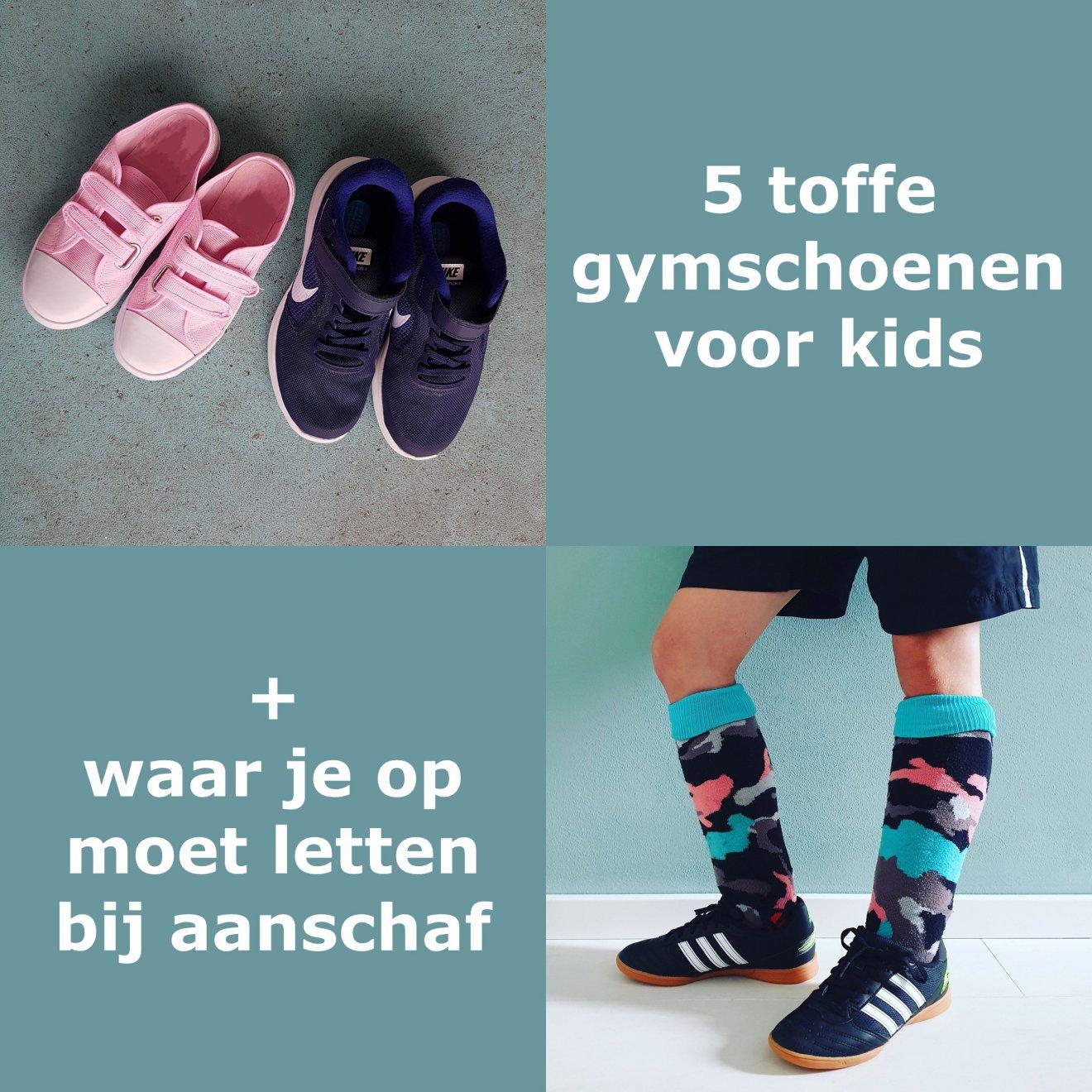 5 gymschoenen voor kinderen + waar je op moet letten bij de aanschaf. Ieder jaar is het weer zoeken: wat koop ik dit jaar voor gymschoenen voor de kinderen. Ik geef je tips waar je op kunt letten bij het kopen van gymschoenen en laat je een paar fijne exemplaren zien. Natuurlijk zijn daarbij ook duurzame zaalschoenen.