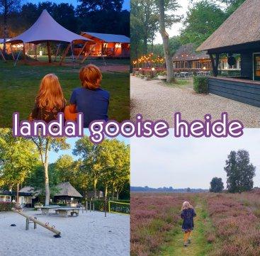 Glamping Landal Gooise Heide: safaritenten camping in het Gooi. Landal Gooise Heide is een nieuwe glamping tussen Huizen en Blaricum. Op deze camping verblijf je in safaritenten in de natuur van het Gooi. Wij gingen erheen en vertellen er alles over in deze review.